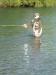 Heather Macdonald enjoying excellent spring fishing