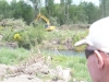 Work now on the Right bank at Smallman\'s Bend
