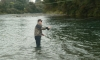 Mike Forret fishing the Breakfast pool without any angler competition