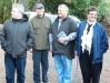 Rob Henderson TDC Councillor, Richard Balm, Project manager, Jeffrey Bennett, Kaumatua, Hono Lord, Kuia.