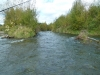 Fast flowing channe into the Bain Pool