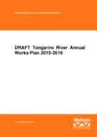 Annual Work Plan 2015-16