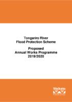 Flood Protection 2019-20